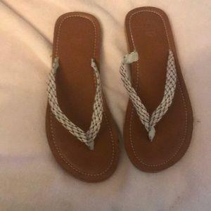 Corona Extra flip flops size 9